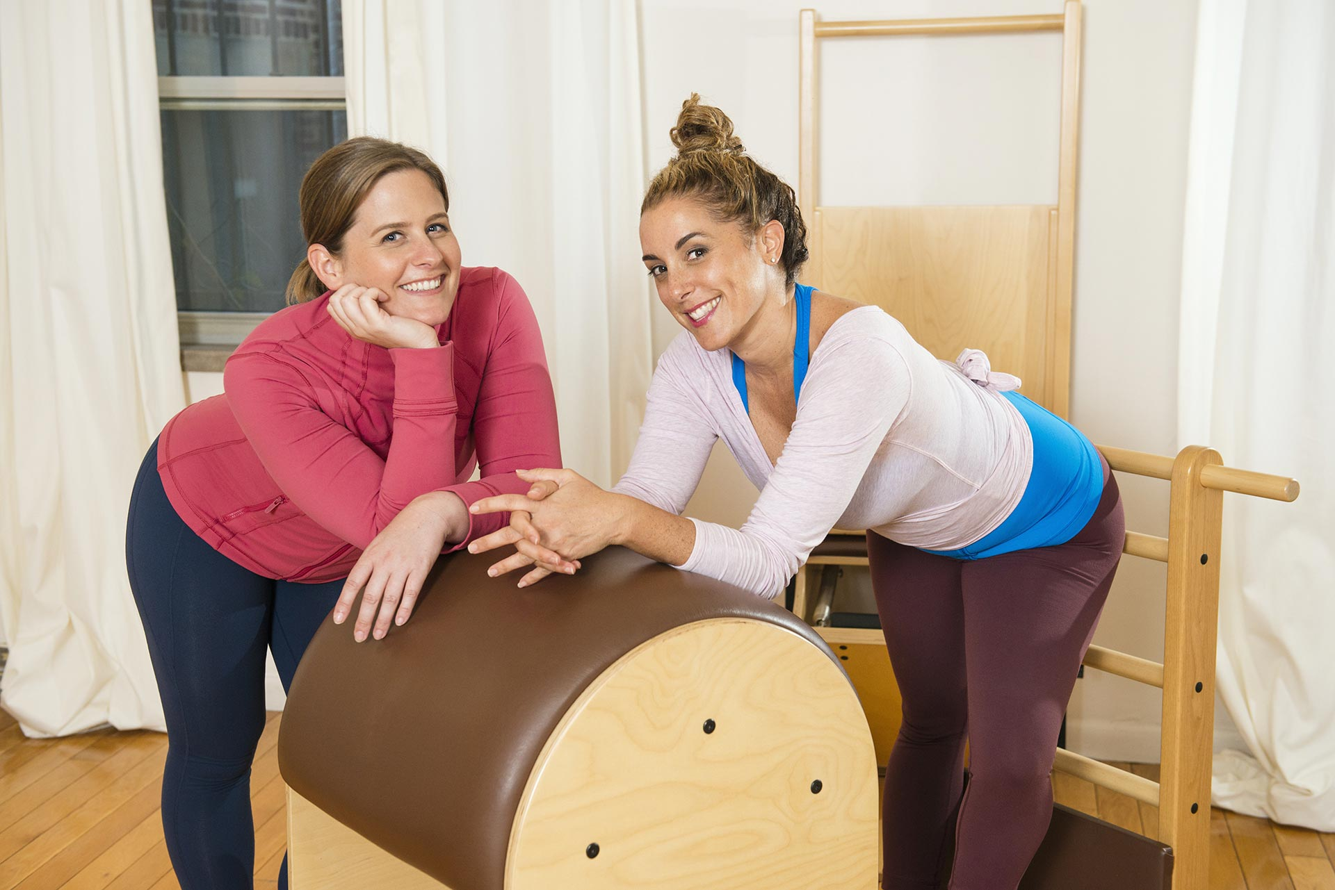 The Pilates Local Founders Michele Rinaldi and Kristin Hoesl